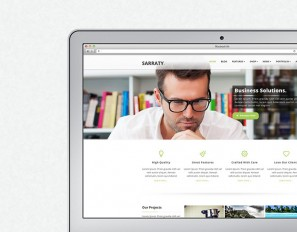 Sarraty Wordpress Theme