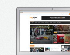 Daynight News & Magazine WordPress Theme