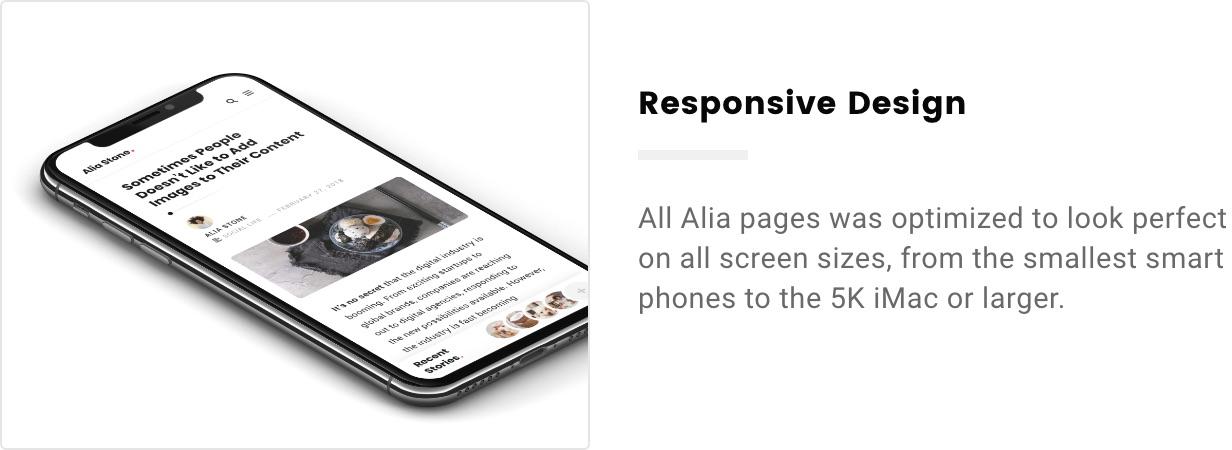 Alia - Minimal Personal Blog - 15